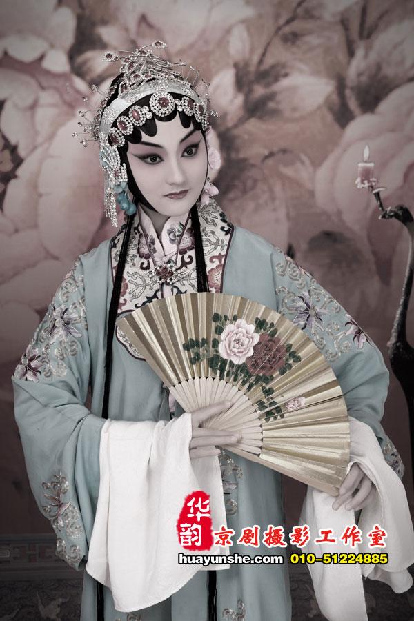 牡丹亭--杜丽娘[蓝]
